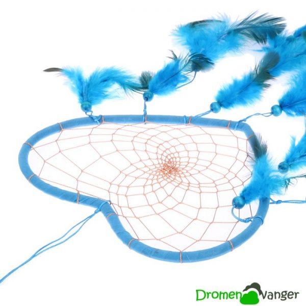 663 bohemian dromenvanger loving heart blauw 2
