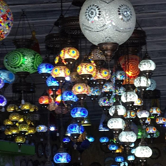 mozaieklampen