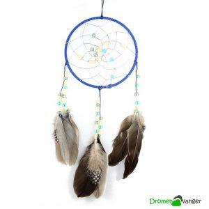 613 dromenvanger met kralen blue beads