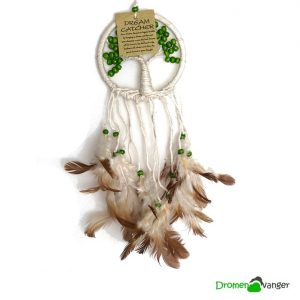 502 tree of life met groene kraal mini