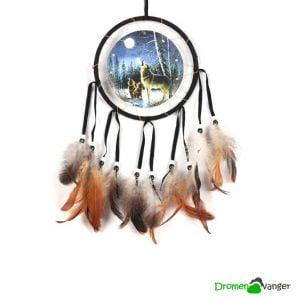 578 dromenvanger indiaans huilende wolf medium