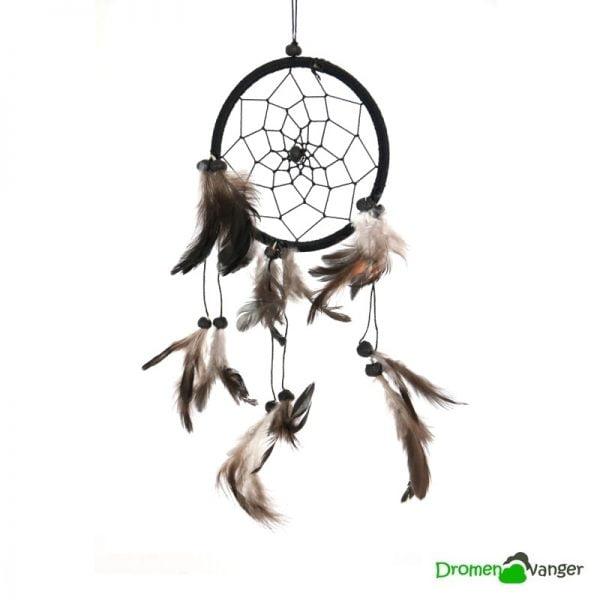 582-dromenvanger-zwart-mindfull junior-11 centimeter-dreamcatcher