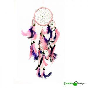 584-dromenvanger-roze met paars-9 centimeter