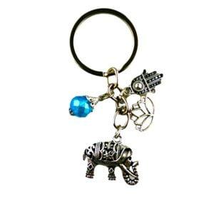 311 sleutelhanger olifant - hand van fatima - geluksbedels